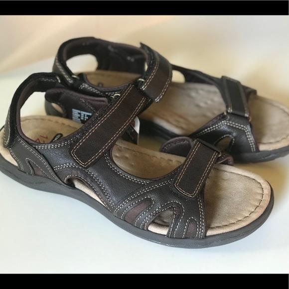 Memory Foam Mens Casual Sandals Size